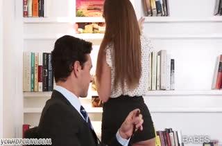 Горячая женушка Brooklyn Chase знает как расслабить мужа